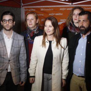 Los rubinenses Sonia Sierra, Eric Laserna y Francisco Javier López en la lista de Ciudadanos (Cs) para las elecciones del 21-D